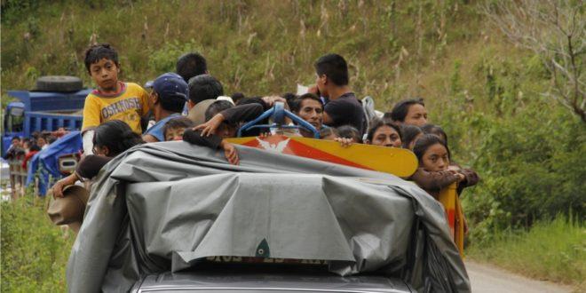 """Chiapas: """"Se desplazaron 14 familias un total de 81 personas"""", denuncian Abejas de Acteal."""