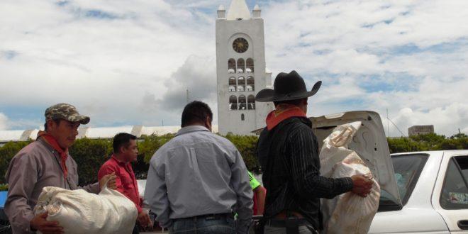 """""""Nuestro apoyo y solidaridad con los defensores de la educación pública"""", Ejido Bachajón a la CNTE.."""