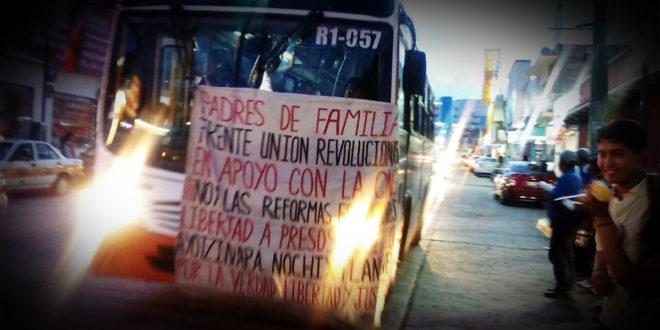 """Chiapas: «No iniciaremos ciclo escolar si no se derroca la reforma"""" Madres y padres de familia"""