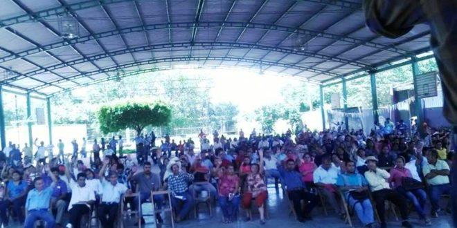 Padres de familia ratifican su apoyo a la CNTE en Chiapas