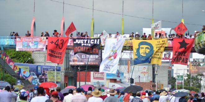 Chiapas: «Manifestamos nuestro repudio a la política de asesinatos que sigue operando este gobierno», CNTE
