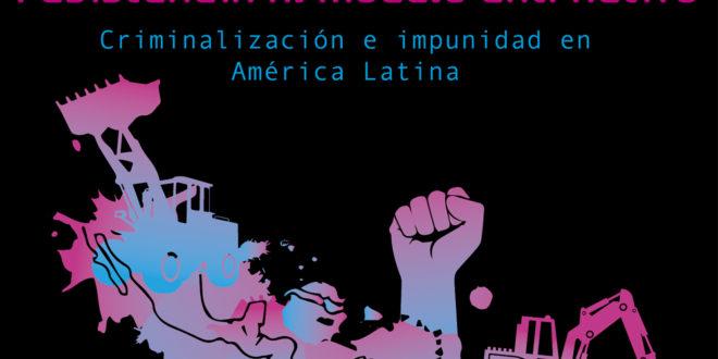 """""""Estamos en la lucha, somos pueblos vivos en resistencia y no nos van a callar"""", Bertha Zúñiga."""
