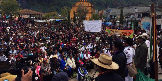 Chiapas: «No más división fomentada por partidos», exigen indígenas y apuestan al autogobierno