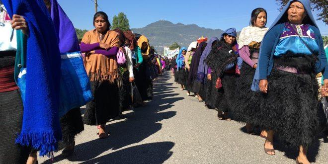 «Como Zedillo, Rosa Pérez cumple patrón de guerra de contrainsurgencia», Abejas de Acteal, Chenalhó Chiapas
