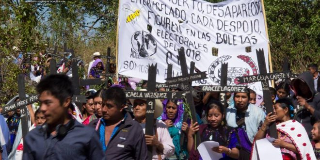 México: CNI repudia agresión contra integrantes de Las Abejas de Acteal