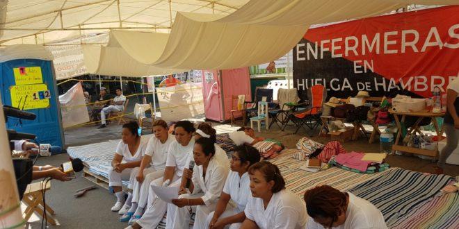 Gobierno de Chiapas deberá pagar adeudos, tras huelga de hambre de enfermeras