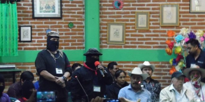 CNI_CIG EZLN: «ALTO A LA GUERRA NARCOPARAMILITAR CONTRA EL CIPOG-EZ»