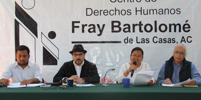 Chiapas: Ineficacia de Velasco, para resolver conflictos pone en riesgo instalaciones del Frayba