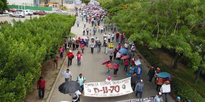 AED-CNTE Chiapas: «firmes y en alerta, para defender la educación pública y los derechos laborales»