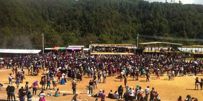 «NO RENUNCIEN A SER MUJERES QUE LUCHAN», VOCERAS DEL EZLN, EN ENCUENTRO INTERNACIONAL DE MUJERES