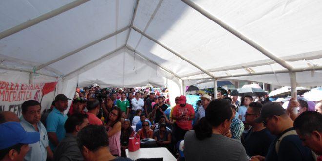 AED_CNTE Chiapas, rechaza el dictamen de decreto aprobado por la Cámara de Diputados, referente a la modificación de la «nefasta Reforma Educativa»