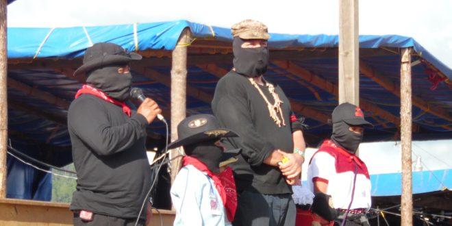 EZLN: «Nombres y ubicación de los nuevos Caracoles y Marez»
