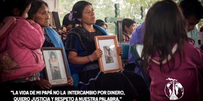 Acteal Chiapas: «Las mujeres no olvidamos el despojo, las matanzas, las desapariciones que hace el gobierno»