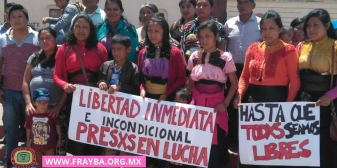 «Chiapas: solicitan se respeten los derechos humanos de indígenas presos en huelga de hambre»
