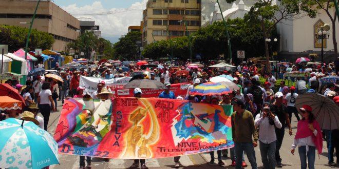 México: «una sociedad saqueada y violentada por el Estado», AED_CNTE Chiapas