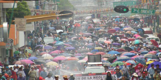"""Chiapas: """"La lucha nunca termina, sigamos de pie, firmes y dignos"""", Profr. David Ruiz"""