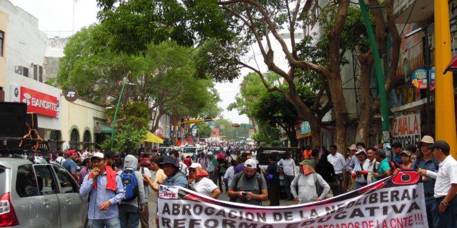 AED-CNTE Chiapas: 4T, con un discurso que busca la confrontación entre pueblo y magisterio