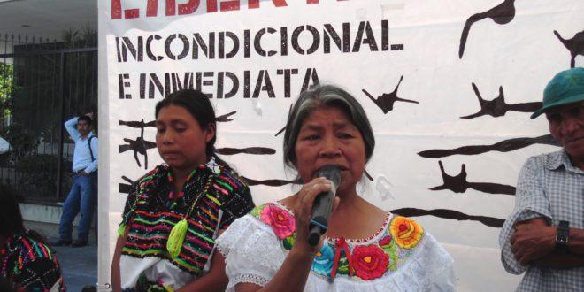 Chiapas: «Lejos de dar solución nos reprimen», denuncian indígenas presos injustamente