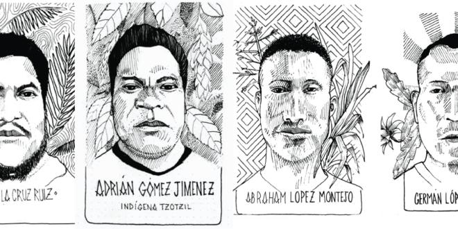 Chiapas: «Estamos presos, pero nuestras palabras no están presas», indígenas en la jornada «Samir Vive»