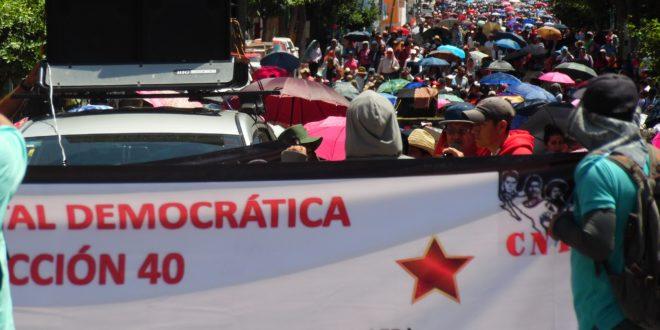AED_CNTE Chiapas: «los eternos charros se vuelven a vender al mejor postor, ahora bajo los designios de la 4T»