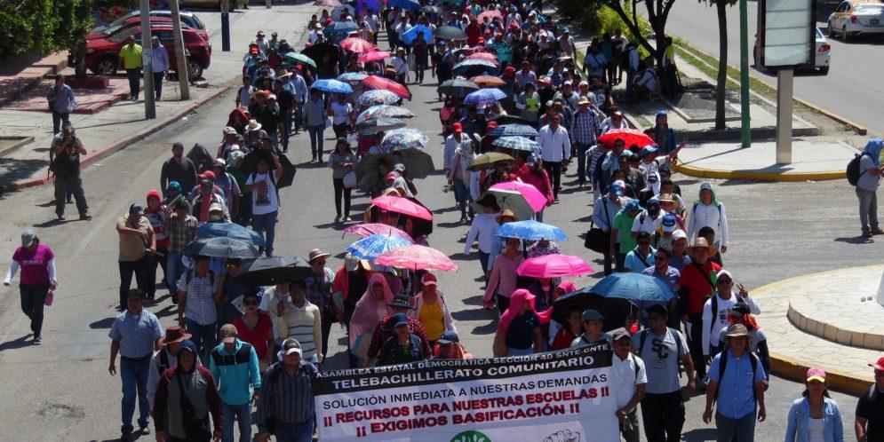 Chiapas: llaman a la unidad por la defensa del Telebachillerato Comunitario