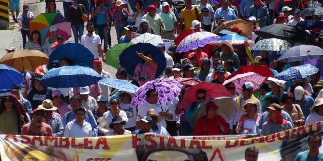 """Chiapas: """"Los charros tratan de reivindicarse, negando su historia de traición y agravios hacia las bases magisteriales"""""""