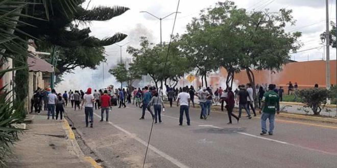 """Mactumactzá Chiapas: """"única forma de interlocución de la 4T, la violencia policiaca"""", denuncian tras represión"""