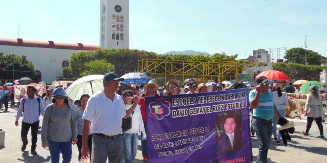 AED_CNTE Chiapas: «al fiel estilo de Aurelio Nuño, se pretende amenazar al magisterio con perjudicar su estabilidad laboral»