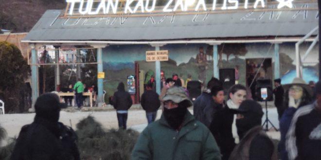 """""""¡MARICHEWEU! Diez, cien, mil veces venceremos"""", EZLN inicia festival de cine en Chiapas"""