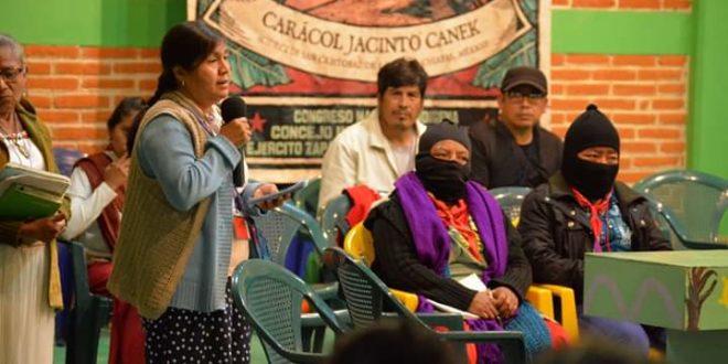 Michoacán: «la necesidad de seguir organizadas y haciendo frente a esta violencia que va en escalada», mujeres Purépechas