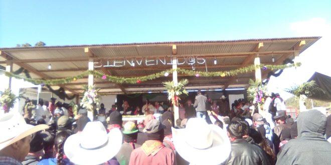 Chiapas: Entregan bastones de mando a la nueva JBG zapatista «Semilla que florece con la conciencia los que luchan por siempre»