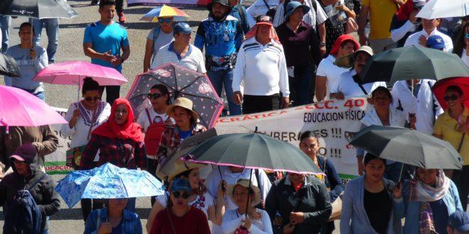 Chiapas: exigen un alto al hostigamiento contra maestr@s que proponen alternativa pedagógica