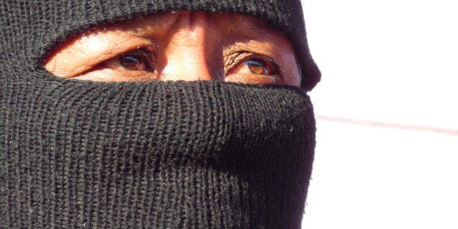 Mujeres zapatistas se unen al paro del 9 de marzo. «No necesitamos permiso para luchar por la vida», aseguran