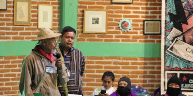 """México: El supuesto """"desarrollo y progreso"""" es destrucción de la naturaleza y explotación. Sierra de Santa Marta, Veracruz"""