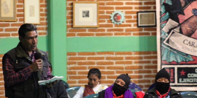 «A 528 años ese desprecio y humillación siguen vigentes» Pueblos indígenas de Oaxaca, ACOPIO