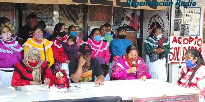 «Seguimos mirando discriminación gubernamental a nuestra palabra», Comunidad Indígena Otomí CDMX