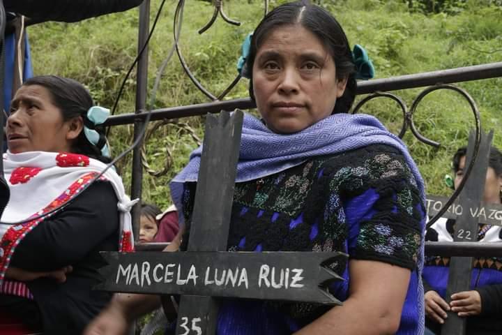 «Junto a Samir y Fidel, hoy reclamamos justicia para Miguel Vázquez», Acteal Chiapas