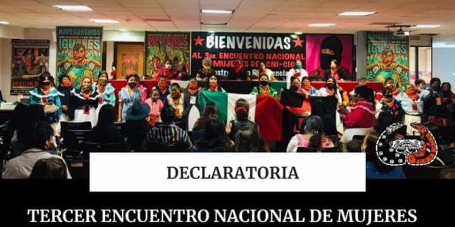 «Que la defensa del territorio no sea nuestra sentencia de muerte», Mujeres CNI