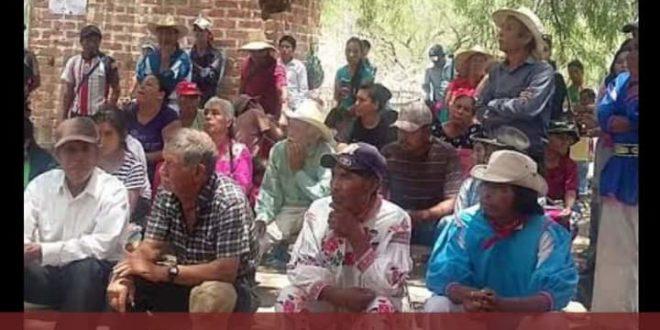 «Evitar el exterminio del pueblo tepecano–tepehuano de Azqueltán, Jalisco mediante el despojo agrario que pretenden los poderosos»