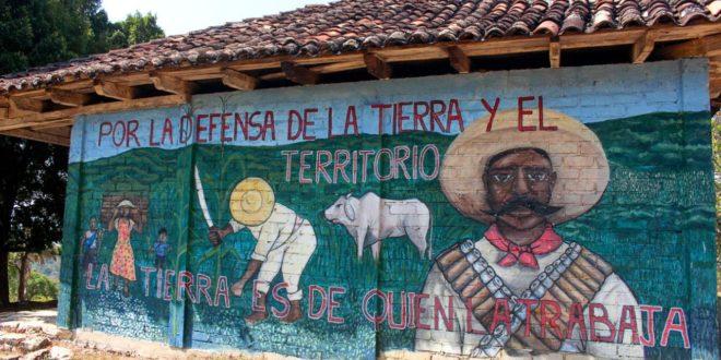 """""""En esta lucha venimos siendo como la descendencia de Zapata"""": comunidad de San Francisco (CNI)"""