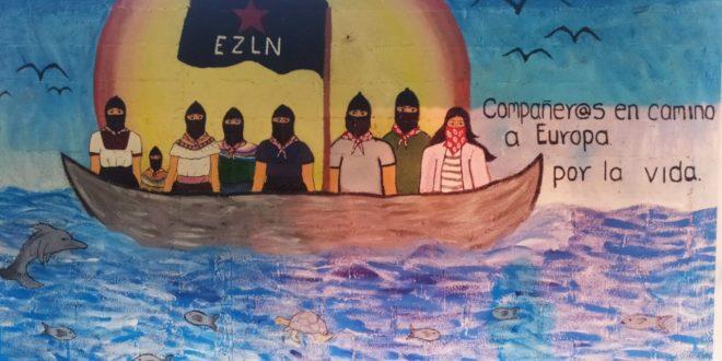 La Caravana sigue su travesía, la Organización continúa y crece por la Autonomía en los hechos. Se despide la delegación marítima Zapatista del Territorio Rebelde para surcar los caminos que la llevarán a La Mar.
