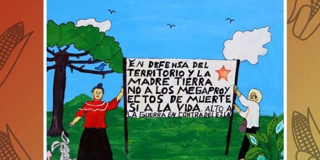 «Mis dibujos son palabras que me salen del corazón», Marcelino Ruíz, indígena tsotsil injustamente preso en Chiapas