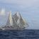 Imágenes de la travesía zapatista en aguas internacionales