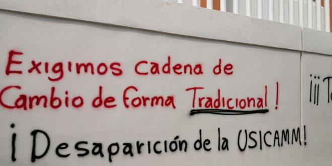 Chiapas: anuncian movilizaciones por la  imposición de cadena de cambios de la Usicam
