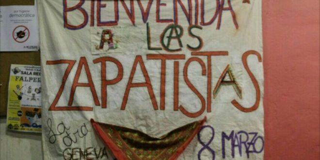 Vigo, Galicia organizando la arribada zapatista
