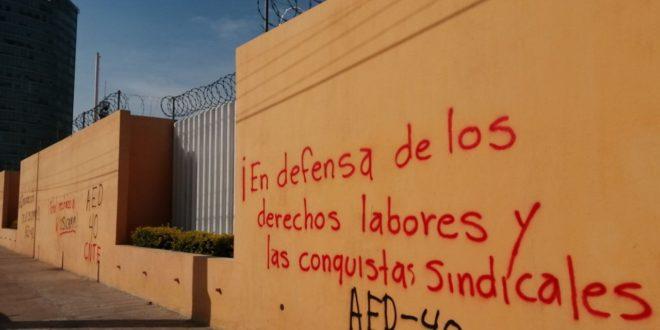 Convocatoria al proceso de cambios vía virtual «claro gesto de provocación», de las autoridades educativas, denuncia el magisterio movilizado en Chiapas