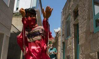 Navega en rías de Vigo la espera zapatista