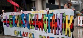 Vigo: delegaciones de Alemania, Grecia, Francia esperan la Arribada Zapatista