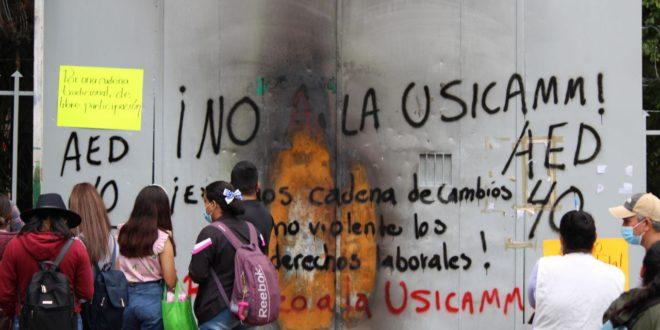 «Pretenden desarrollar las cadenas de cambio de forma virtual», denuncian maestr@s de Chiapas