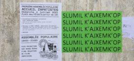 Lluvia de actividades para recibir al EZLN y el CNI en la capital francesa